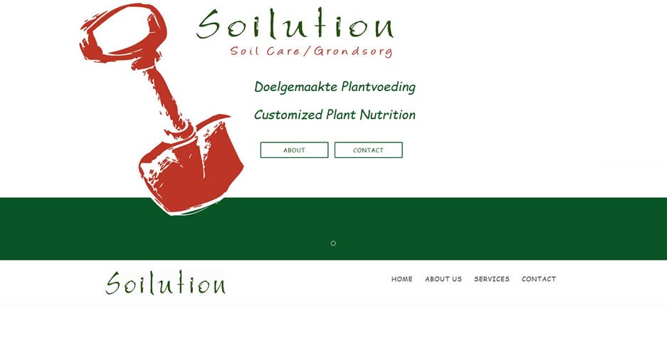 Soilution Bootstrap Website