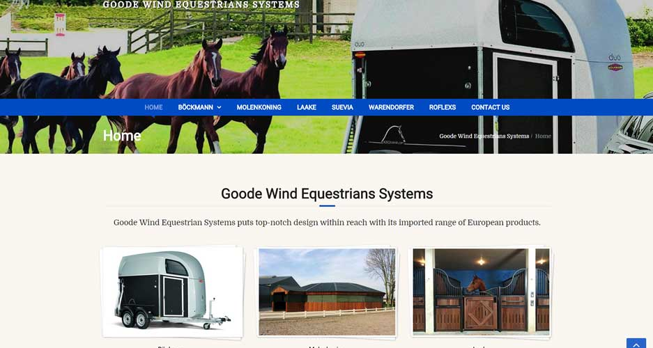 Goode Wind Equestrians Systems