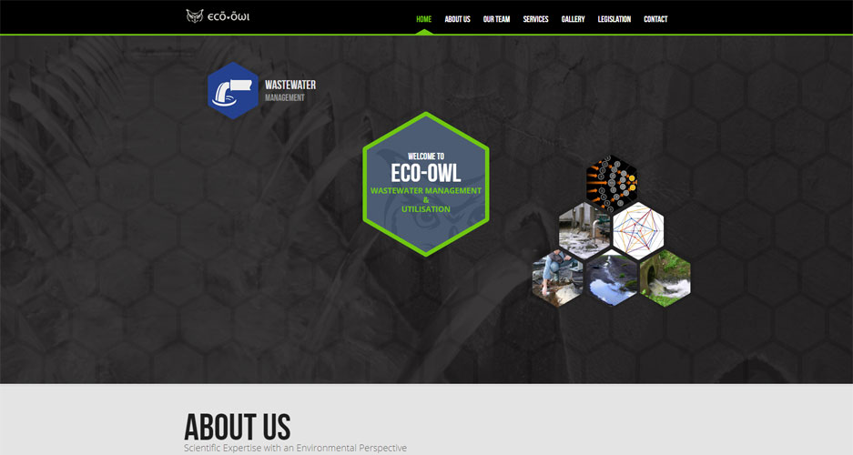 Eco-Owl Bootstrap Website